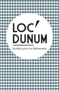 logo client Loc'dunum identité visuelle