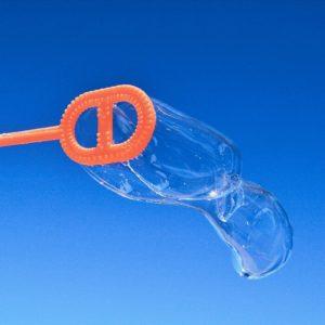 photo de bulles de savon pour agence de communication marketing agency