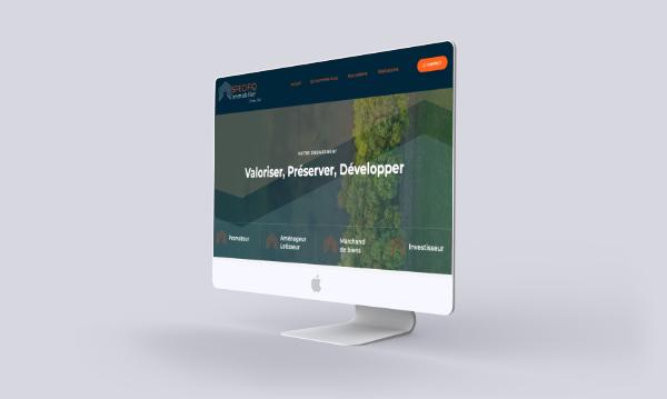 illustration site internet client