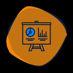 icone stratégie communication marketing