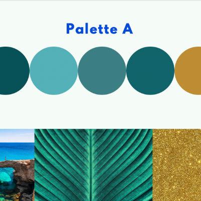 création charte graphique identité visuelle palette de couleurs