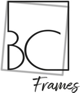 création de logo pour BC Frames par les Pépites and Co