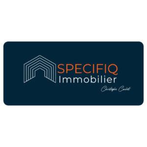 création de logo Specifiqimmo par les Pépites and Co