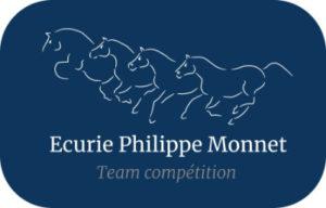 logo identité visuelle Ecurie Philippe Monnet