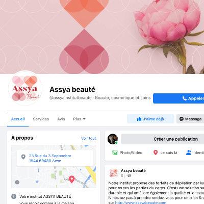 site Facebook Assya