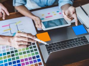 Illustration planifier un site internet